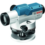 Bosch GOL 20 D Professional Optical Level, BT 160 Tripod & GR 500 Measuring Rod
