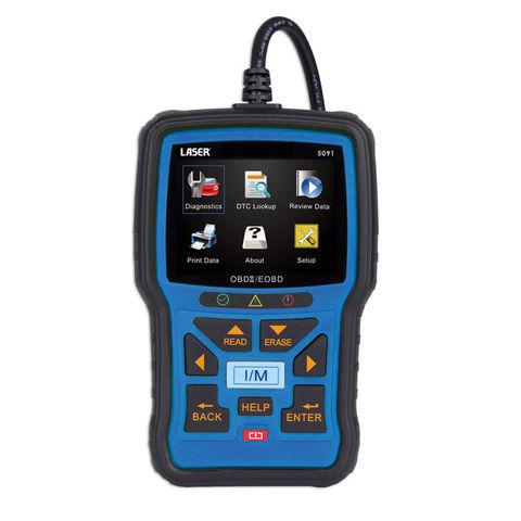 Image of Laser Laser 5091 EOBDII/EOBD Code Reader & Reset Tool
