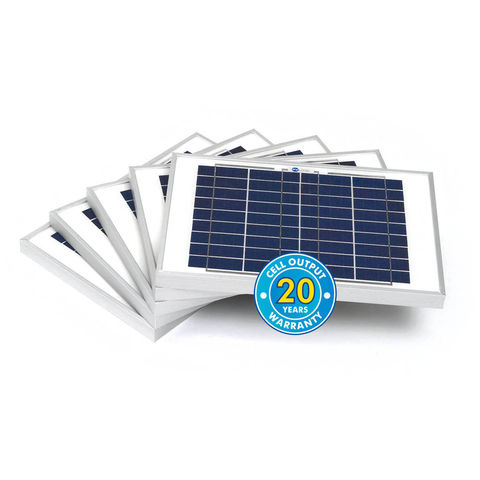 Image of Solar Technology International PV Logic 10Wp Bulk Packed Solar Panels (5 Pack)