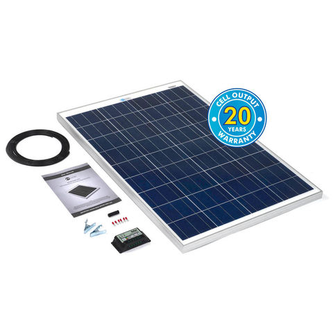 Image of Solar Technology International PV Logic 100Wp Solar Panel Kit & 10Ah Charge Controller