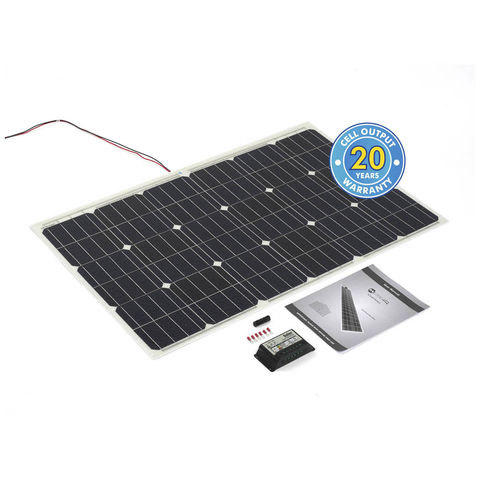 Image of Solar Technology International PV Logic 100Wp Flexi Kit & 10Ah Charge Controller