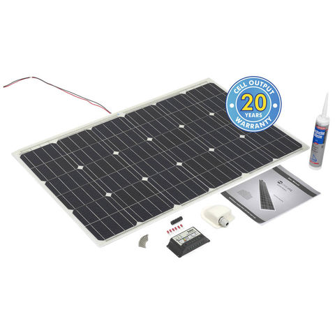 Image of Solar Technology International PV Logic 100Wp Flexi Roof / Deck Top Kit