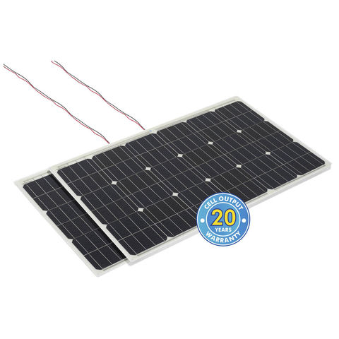 Image of Solar Technology International PV Logic 100W Flexi Bulk Pack rear connection (2 Pack)