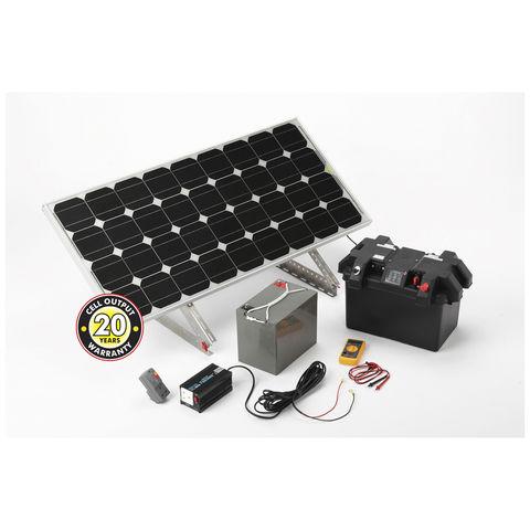 Image of Solar Technology International Solar Technology Solar Power Station 120W