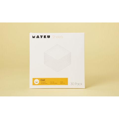 Image of Mayku Mayku Transparent Sheets for Mayku Formbox (Pack of 30)