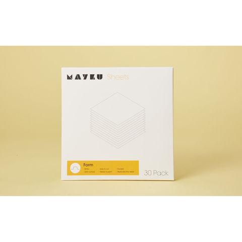 Image of Mayku Mayku White Sheets for Mayku Formbox (Pack of 30)