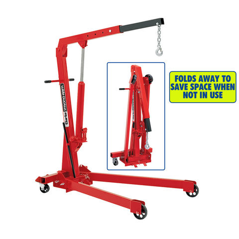 Clarke Cfc100 1 Tonne Folding Workshop Crane Machine