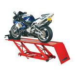 Clarke CML3 450kg Foot Pedal Operated Hydraulic Motorcycle Lift