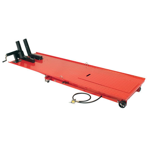 foot pedal operated machine