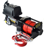 Warrior Ninja 907kg 12V DC Synthetic Rope Winch