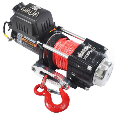 Image of Warrior Warrior Ninja 1588 kg 12V DC Synthetic Rope Winch