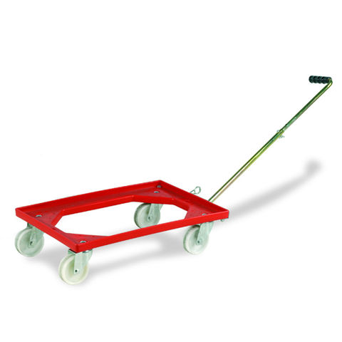 Image of Barton Storage Barton Storage 88880-01WH Euro Container Dolly With Handle
