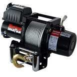 Warrior Spartan Extended Drum 2727kg 12V DC Steel Rope Winch