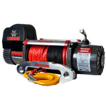 Warrior Samurai 3636kg 12V DC Synthetic Rope Winch