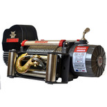 Warrior Samurai 5400kg 24V DC Steel Rope Winch