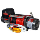 Warrior Samurai 5400kg 12V DC Synthetic Rope Winch