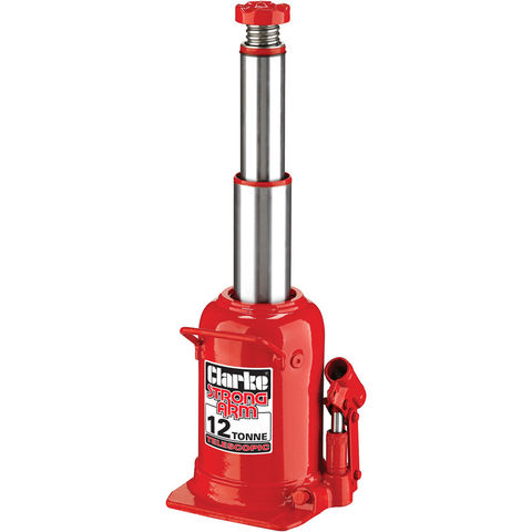 Image of Clarke Clarke CTBJ12 12 Tonne Telescopic Bottle Jack