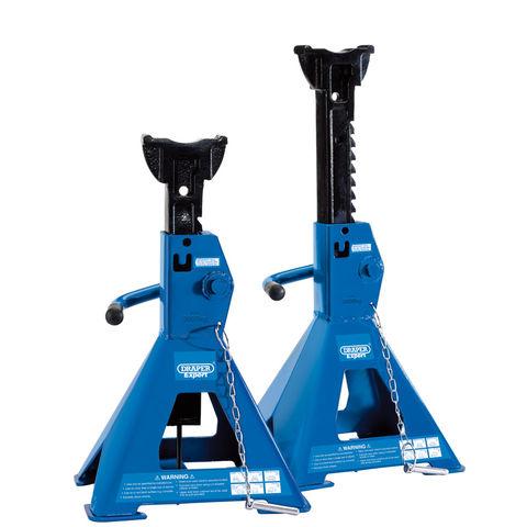 Image of Draper Draper ARAS03-E Pair of Pneumatic Axle Stands (3 Tonne)