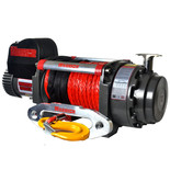 Warrior Samurai 9072kg 24V DC Synthetic Rope Winch