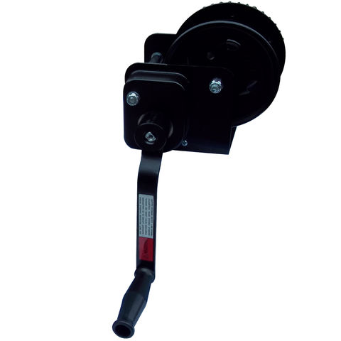 Image of Lifting & Crane Lifting & Crane HWB08 800lb Black Painted Hand Winch with Brake