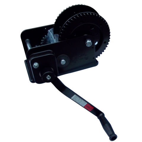 Image of Lifting & Crane Lifting & Crane HWB25 2500lb Black Painted Hand Winch with Brake