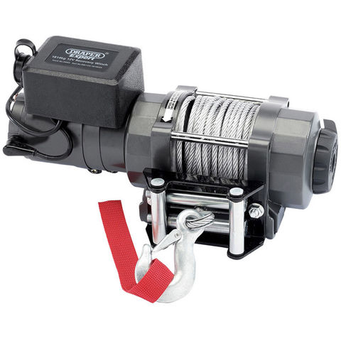 Image of Machine Mart Xtra Draper 1814kg 12V Recovery Winch