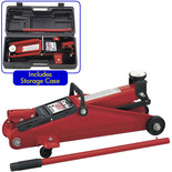 Clarke CTJ2MB 2 Tonne DIY Trolley Jack with Carry Case