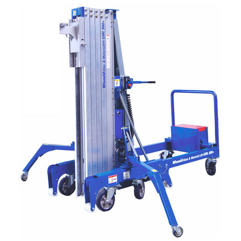 Image of Wienold Wienold GML800+ 25KM 800kg Glass and Material Lift with Counter-Weights