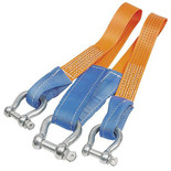 Lifting and Crane Webbing Towing Bridle with Shackles