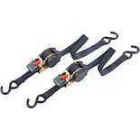 Clarke CHT754 3m Heavy Duty Ratcheting Tie Down (Twin Pack)