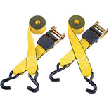 Clarke CHT756 3m Heavy Duty Ratcheting Tie Down (Twin Pack)