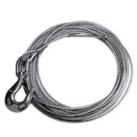Image of Lifting & Crane Lifting & Crane SSHW12C 15m Stainless Steel Cable for 1200lb Hand Winch