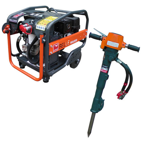 Image of Altrad Belle Belle HPX01S+ BHB25XS Hydraulic Breaker and Power Pack