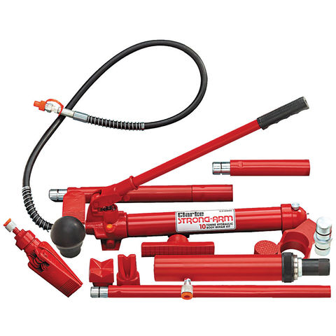 Image of Clarke Clarke CS10SBRK 10 Ton Body Repair Kit with Fast Action Pump