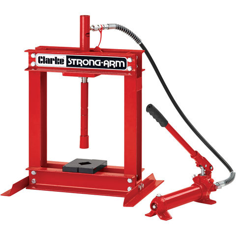 Clarke csa4b 4 tonne hydraulic bench press machine mart machine mart Hydraulic bench press