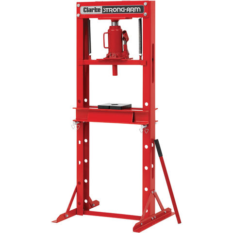 Clarke Csa10ep 10 Tonne Economy Hydraulic Floor Press