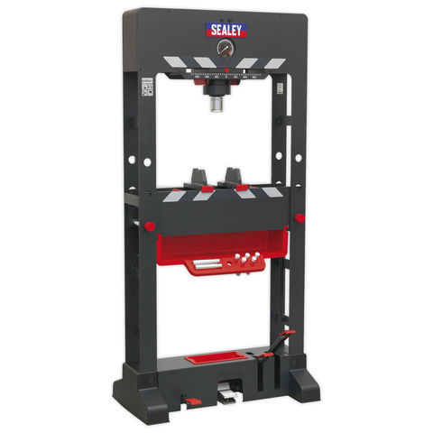 Image of Sealey Sealey PPF501 Premier 50 Tonne Floor Type Air/Hydraulic Press