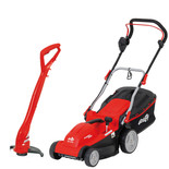 Grizzly ERM1637G Electric Lawnmower & ERT 230 Electric Lawn Trimmer