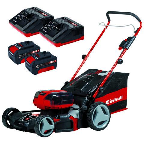 Einhell Power X-Change Einhell Power X-Change GE-CM 36/47 HW Li 47cm Cordless Lawn Mower 36V with 2 x 18V 4Ah Batteries