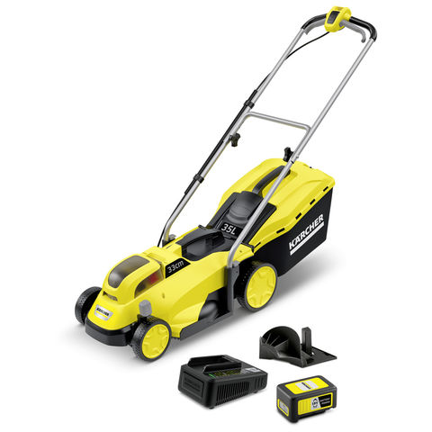 Karcher Karcher LMO 18-33 33cm Cordless Lawn Mower with Battery Set