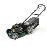 Webb WER460SPES Classic 46cm Self Propelled Electric Start Petrol Rotary Lawnmower