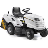 Alpina AT792HCB 92cm White Ride On Lawnmower