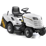 Alpina AT7102HCB 102cm White Ride On Lawnmower