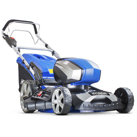 Hyundai Hyundai HYM80LI460SP 80V Lithium-Ion Cordless Battery Powered Self Propelled Lawn Mower 18� Cutting Width With Battery & Charger