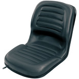 Clarke TS3 High Back Tractor Seat with Slide Rail
