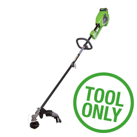 Image of Greenworks Greenworks GWGD40BC 40V Brushless 2 in 1 Trimmer (Bare Unit)