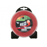 Oregon Red Round Trimmer Line - 2.7mm x 12m
