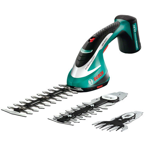 Image of Bosch Bosch ASB10.8LI 10.8V Shrub and Grass Shear Set