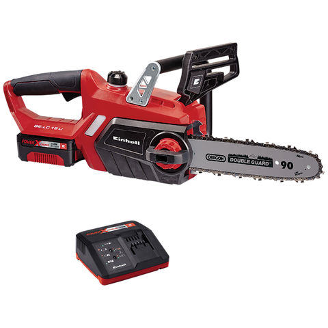 Image of Einhell Power X-Change Einhell GE-LC 18 Li Power X-Change 18V Lithium Ion Cordless Chainsaw Kit with 3.0Ah Battery