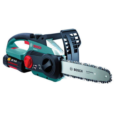 Image of Bosch Bosch AKE 30 Li 36V Lithium-Ion 30cm Cordless Chainsaw